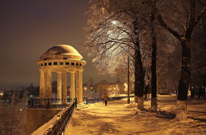 Вечерние  город ярославль